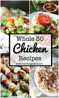 30 Whole30 Dinner Ideas: Chicken | www.thepinningmama.com