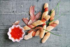 Grissini i szynka dojrzewająca Cantaloupe, Fruit, Food, Essen, Meals, Yemek, Eten