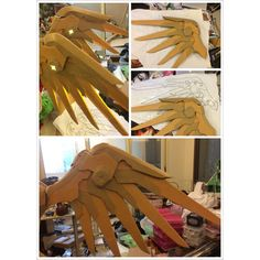 """Almost finish #cosplay #worbla #overwatch #mercy"""