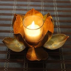 Blooming Lotus Tealight