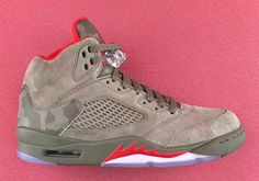 f0512ac2bb0361 Official Air Jordan 5 Camo launch page. View the latest images