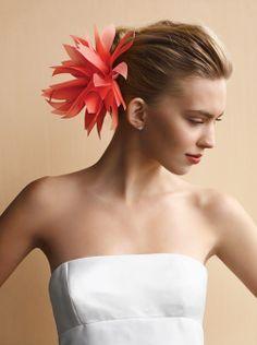Fabric Flower Bobby-Pin Hairpieces - Martha Stewart