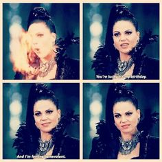 Awesome Evil Queen Regina (Lana) the awesome Once S5B Spring premiere E12…