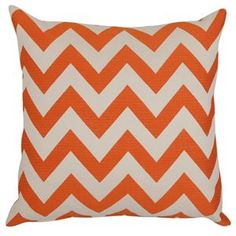 Classic Large Zig Zag Print Pillows - Duralee fabrics and super affordable! More colors available www.pillowsbydezign.com