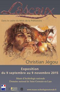 """Exposition """"Lascaux par Christian Jégou"""", du 9 septembre au 9 novembre 2015. © MAN"""