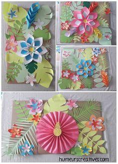 Tropical Party (un anniversaire tropical pour mes 30 ans) - Create A Board, Sky Design, Jungle Party, Tropical Party, Gaston, Dog Leash, Luau, Flamingo, Backdrops