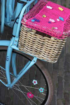 Vrolijk op de fiets uit Inhaken op vakantie