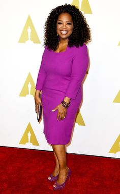 Oprah Winfrey from 2015 Oscars: Nominees' Luncheon