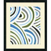 Found it at AllModern - 'Swirly Bob I' by Jodi Fuchs Framed Graphic Art