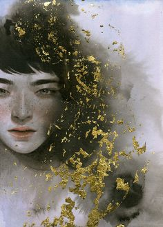 """Having an Auric Audacity"" by Tran Nguyen on Illustration Served"