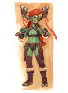 Warcraft Troll by wood-illustration.deviantart.com on @DeviantArt