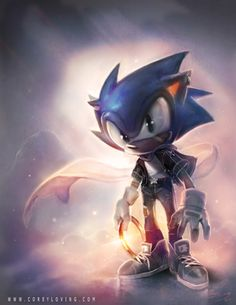 Sonic the Hedgehog - by CoreyLoving