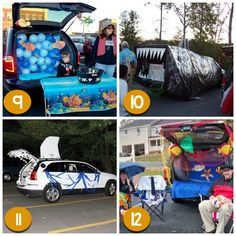 120 creative trunk or treat ideas more decorating ideas - Halloween Decorated Cars