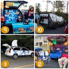 120 creative trunk or treat ideas