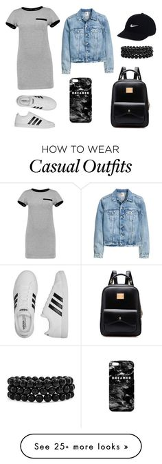 """""""#12 Shopping Trip"""" by lolohood on Polyvore featuring MARA, adidas, NIKE, Mr. Gugu & Miss Go and Bling Jewelry"""