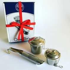 Oxford Eve's Tea Infuser Gift set, now available on Amazon.com