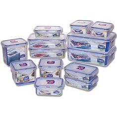 #walmartgreen Lock & Lock 26-Piece BPA-free Airtight Container Set