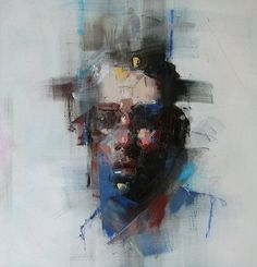 Paintings by Ryan Hewett #portrait #painting #modern #abstract