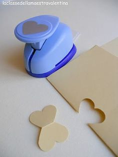 """For scrapbook and paper art: """"make a butterfly out of a heart paper punch"""". Paper Punch Art, Punch Art Cards, Card Making Tips, Card Making Techniques, Craft Punches, Paper Hearts, Card Tutorials, Diy Cards, Scrapbook Cards"""