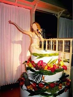 Cool Presents Big Cakes Pop Out Bakery Kylie Minogue Special Gifts Party Nevada Birthday Shower Cake