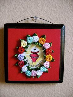 Corazon Dia de los Muertos Shrine