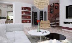 Zdjęcie projektu Opałek II N Village House Design, Village Houses, Attic Bedroom Designs, Brick Siding, House Outside Design, Design Case, My Dream Home, Floor Chair, House Plans