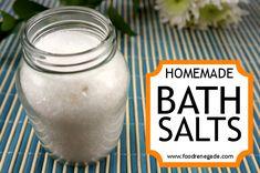 Bath Salts: A Relaxing Bath Salts Recipe