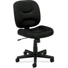 Hearts Attic Black Task Chair Office Chair