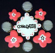 Congratulation cookie gift