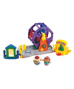 Fisher-Price Little People Musical Ferris Wheel by Fisher-Price #zulily #zulilyfinds