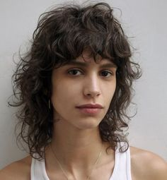 Curly Hair Styles, Curly Hair With Bangs, Cut My Hair, Long Curly Hair, Hairstyles With Bangs, Wavy Hair, Medium Hair Styles, Natural Hair Styles, Hair Cuts