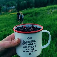 """""""Oh darling lets move to montana and be adventurers""""- huckleberry picking on whitefish mountain in montana"""