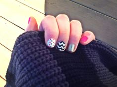 Mix and match nail designs