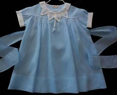 Vintage baby dress, so cute! 1940's - 1950's.