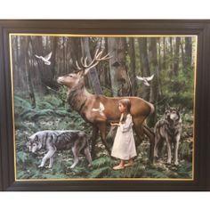 The Forrest by Gerard M Burns, Scottish artist. Original £20,000