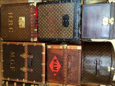 LV Group - How to identify your antique or vintage Louis Vuitton trunk from Daniels Antiques.