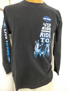 Harley Davidson LONGSLEEVE LIVE TO RIDE BAHAMAS Mens T Shirt Size M Medium #other #other