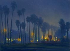 Nocturne Painting: Thomas Van Stein