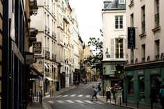 One of my fave intersections in Paris. St. Germain. Always something to take note of.