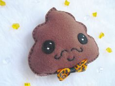 Poo Plushie (  i now know what to make my sister for a going away present! thank you! )