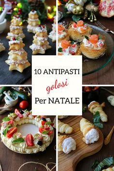 Christmas Tea Party, Christmas Dishes, Christmas Appetizers, Christmas Cooking, Christmas Desserts, Vegan Recipes 4 Ingredients, Vegan Recipes Easy, Italian Recipes, Sweet Recipes