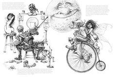 Pascal Moguérou Sketchbook | De l'autre côté du miroir