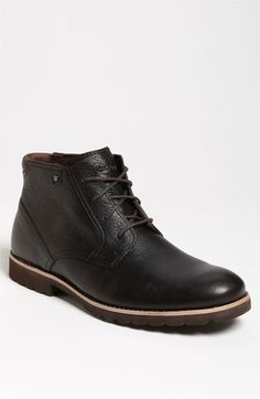 Rockport® 'Ledge Hill' Chukka Boot ($145), smooth leather, lightweight, shock-absorbing sole provides effortless comfort all day. Men's at Nordstrom.