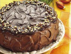 Ricette Festa della Mamma: torta al cioccolato con crema al caffè