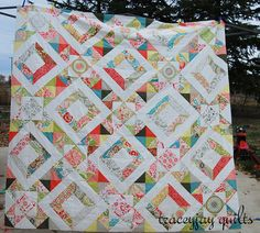 French Kisses in the Secret Garden by Traceyjay Quilts