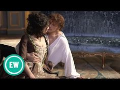 Outlander: Go behind the scenes of EW's gorgeous cover shoot - YouTube