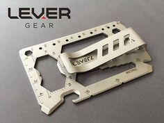 The Lever Gear Toolcard is a 40-In-1 Multi-Tool That Fits in Your Wallet