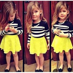 Cute outfit for the little one.