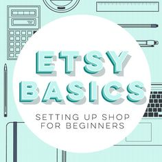 Thinking about opening an Etsy shop? Getting started on Etsy is as simple as clicking the Sell on Etsy or Open a shop links (top right corner and bottom left, respectively) ... then follow the instructions to list your first item.  But! If you need a linear set of instructions to walk you through the process step-by-step, this guide is for you. Heres what else youll get to help you set up:  - A pricing formula. (To make sure youre coming away with a profit!)  - My thoughts as an Etsy member…