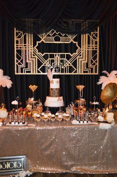 Gorgeous Great Gatspy Birthday Party See More Ideas At CatchMyParty 39th